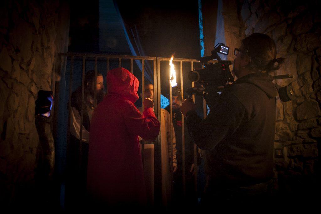 Bella (PZ) 26.04.2016 - Backstage videoclip musicale del brano Santo e Diavolo dei Babalù. Regia di Mimmo Greco