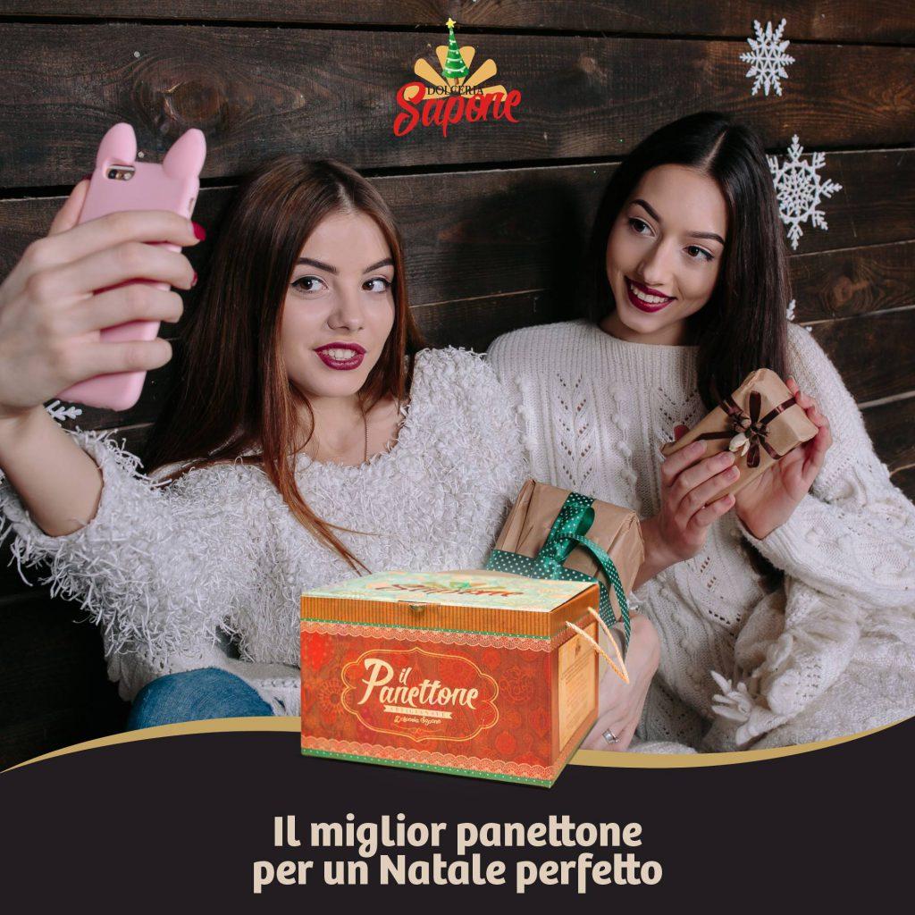 """Campagna pubblicitaria """"Dolceria Sapone - Christmas 2017"""""""