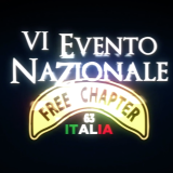 Logo IV Evento Nazionale Free Chapter Italia