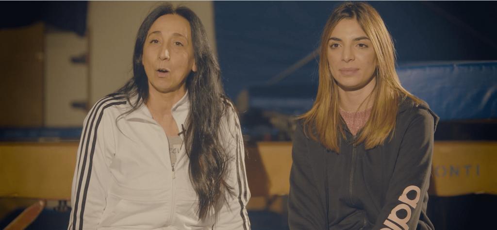 La storia della Ginnastica Brindisi Temese Anna Maria De Castro e Francesca Robassa