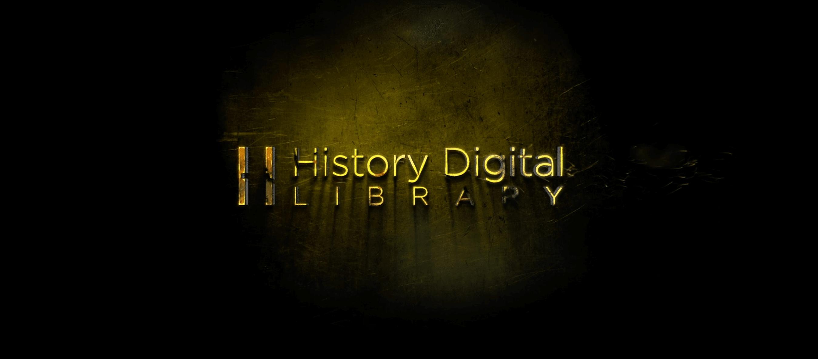 History Digital Library - La Biblioteca del futuro logo