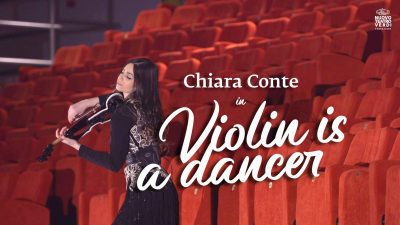 Chiara Conte Violin in a Dancer